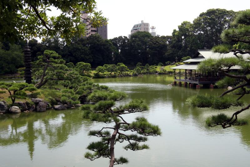Najpiękniejsze ogrody japońskie wJaponii: ogród Kiyosumi Teien / Kiyosumi Garden (清澄庭園), Tokio, prefektura stołeczna Tokio