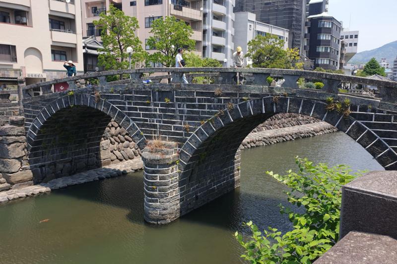 Ciekawe miejsca w Japonii: Most Okularowy - Meganebashi, Nagasaki (fot. Agata Drozdowicz)