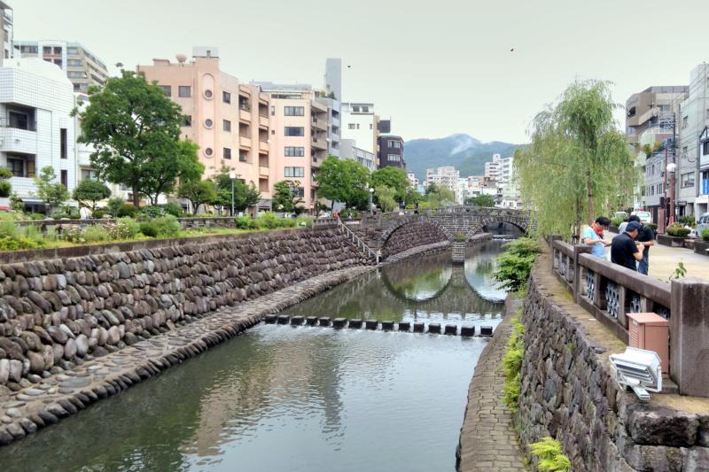 Most Okularowy - Meganebashi, Nagasaki (fot. Ela Lasota)