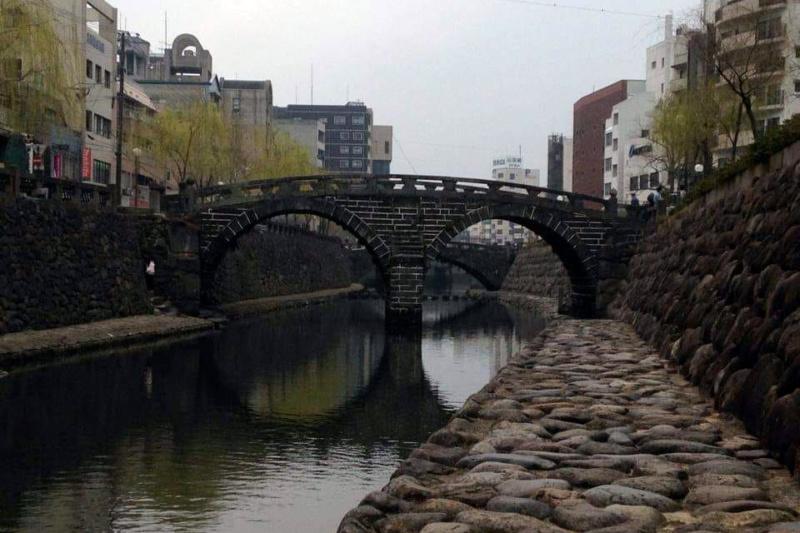 Meganebashi, Nagasaki (fot. Hania Kamaszewska)
