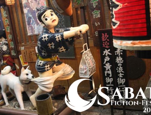 """Sabat Fiction-Fest 2019: prelekcje """"Podróż doJaponii: Q&A"""" oraz""""Kuchnia japońskiej wpopkulturze"""""""