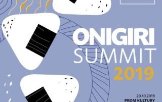Onigiri Summit 2019, Bunkasai 2019, IV Jesienny Festiwal Sztuk Japońskich (onigiri wWarszawie)