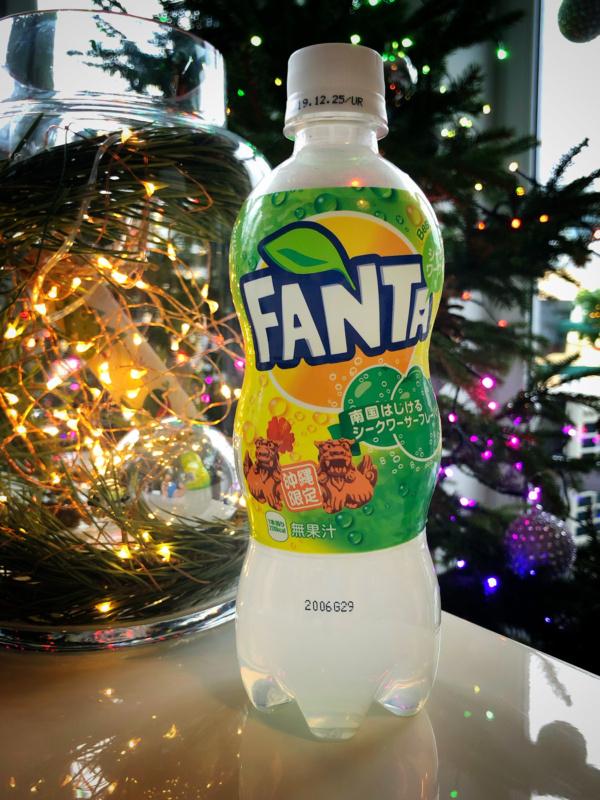 Limitowana Fanta zJaponii (Limited Fanta Japan, Okinawa, shikuasa lime)