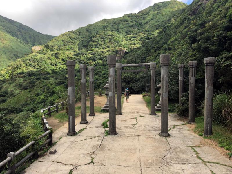 Chram shito Jinguashi wpobiżu kopali złota, Jiufen, Tajwan