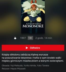 Najlepsze filmy anime zeStudio Ghibli naNetflix