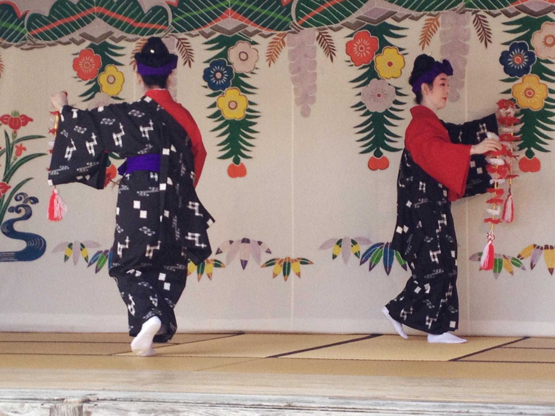 Okinawa Ryukyu Buyo - tradycyjny taniec japoński z Okinawy