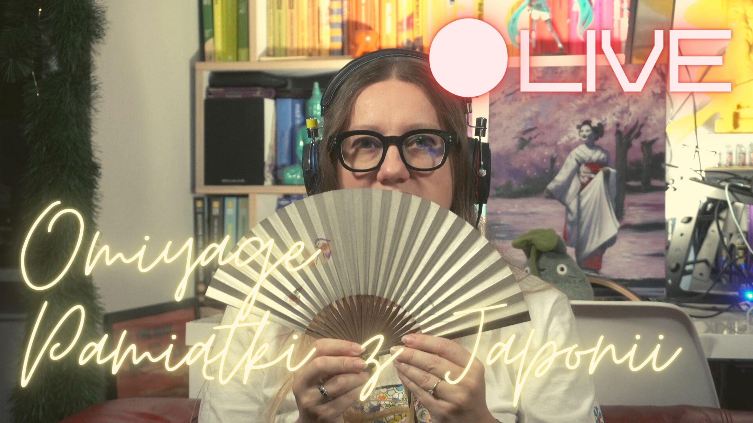 Ciekawe pamiątki z Japonii. Omiyage. Spotkanie LIVE o Japonii (BTTH.TV LIVE)