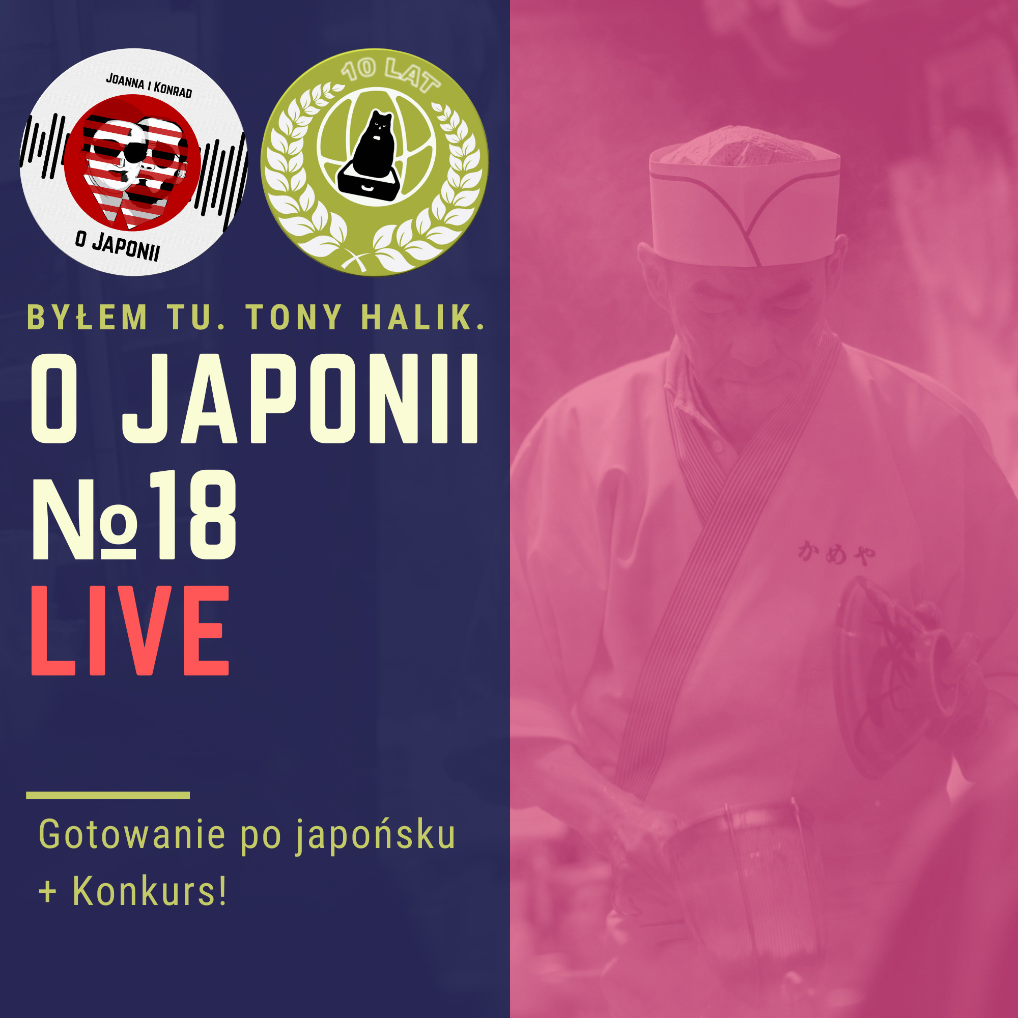 Podcast o Japonii №18 (Gotowanie po japońsku + Konkurs!)