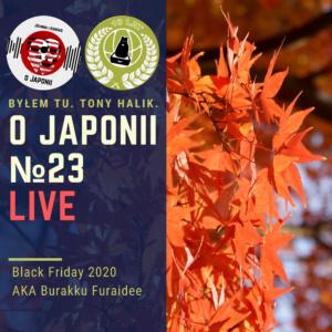 Podcast oJaponii №23 (Black Friday - szukamy japońskich okazji)