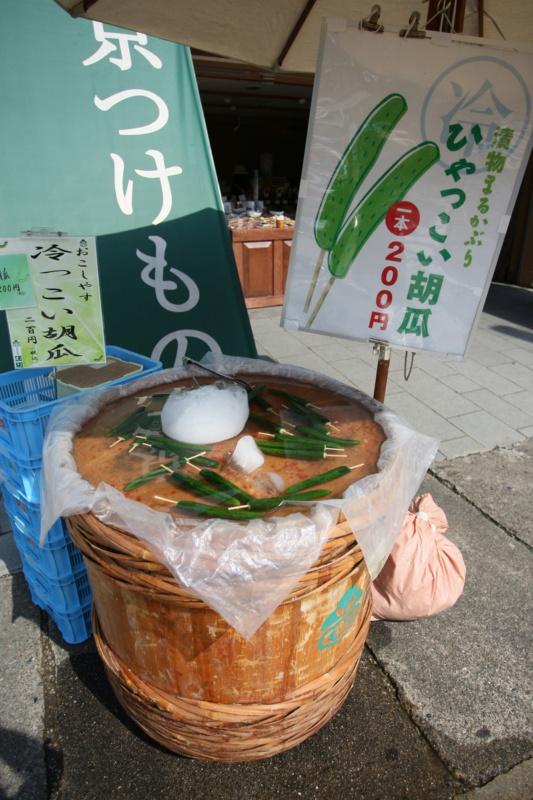 Japoński street food: ogórek napatyku (いやつこい胡瓜)