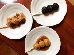 Japońskie słodycze: dango