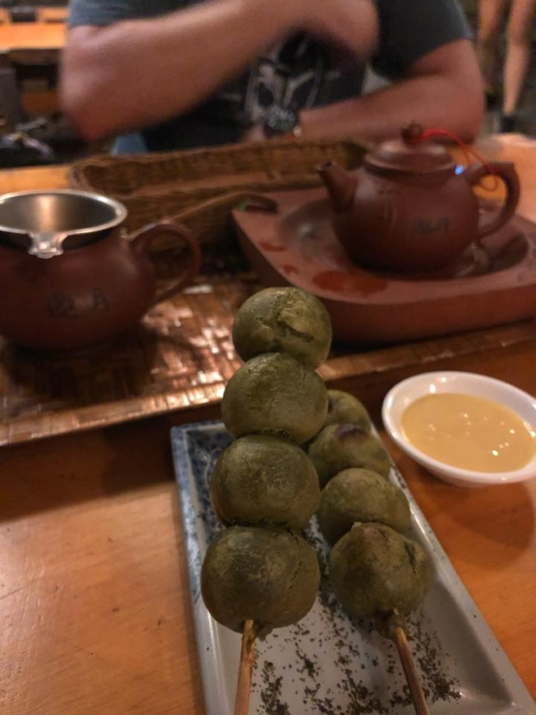 Matcha dango ztajwańską herbatą