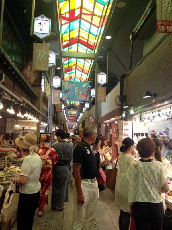Street food wJaponii: Nishiki Market - Kioto