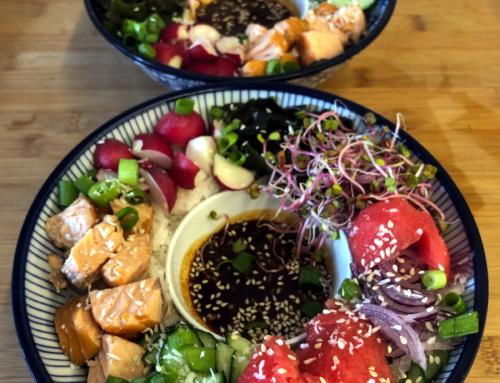 Kuchnia hawajska: przepis napoke bowl zarbuzem