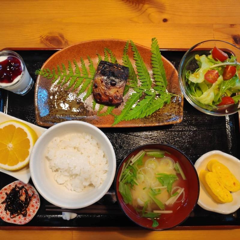 Japońskie śniadanie wpensjonacie naYakushimie (fot.Joanna Wilk)
