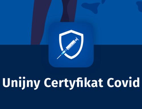 UCC – Unijny Certyfikat Covid (nowa aplikacja doskanowania kodu QR)