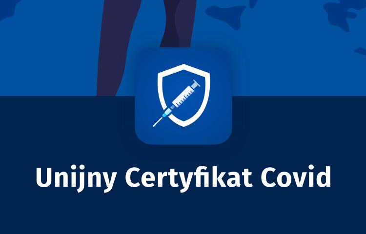 """Aplikacja """"UCC - Unijny Certyfikat Covid"""""""