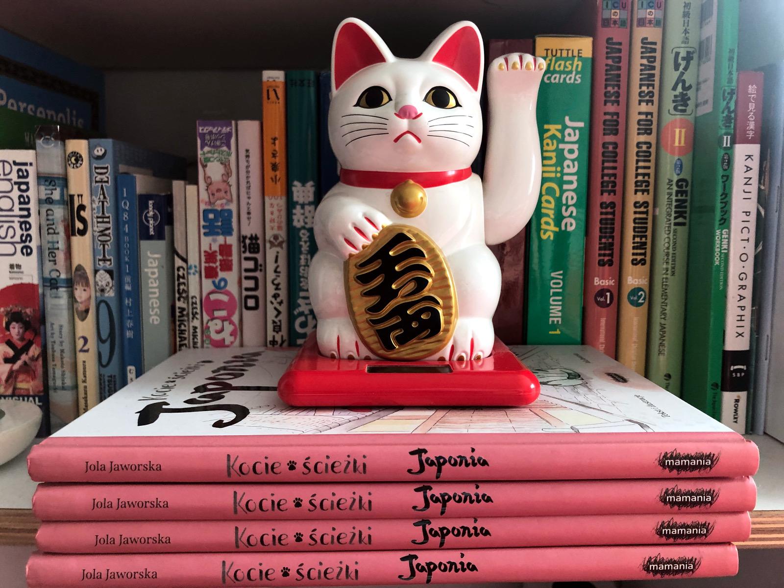 Kocie ścieżki. Japonia. Meneki neko. Poczwórny Koci Konkurs - wyniki