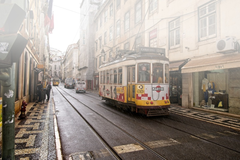 Tramwaj 28, Lizbona, Portugalia