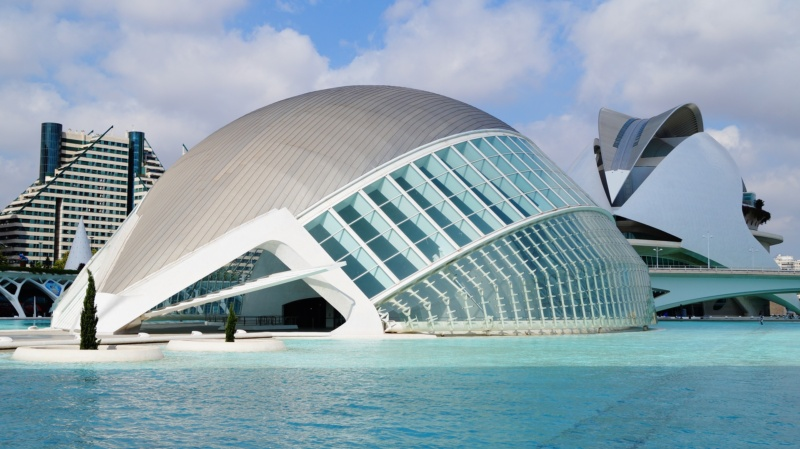 Ciudad de las Artes y las Ciencias (Miasteczko Sztuki iNauki), Walencja, Hiszpania, fot.Nikolaiy