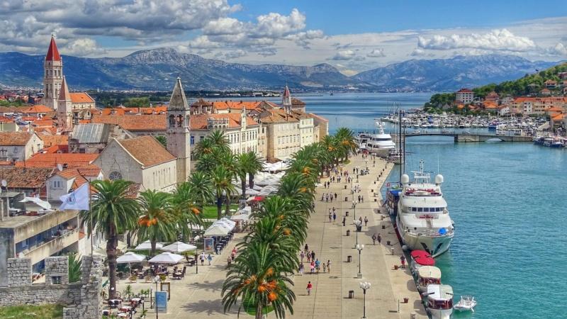 Trogir, Dalmacja, Chorwacja