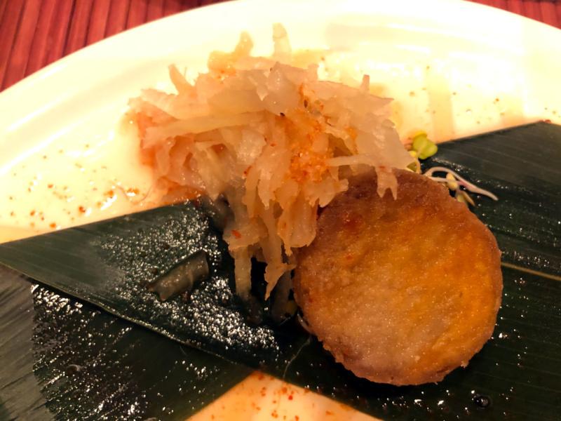 Buri Sushi kolacja degustacyjna: wątroba żabnicy zrzepą