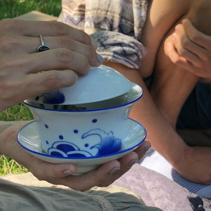 Chińska ceramika doherbaty: gaiwan