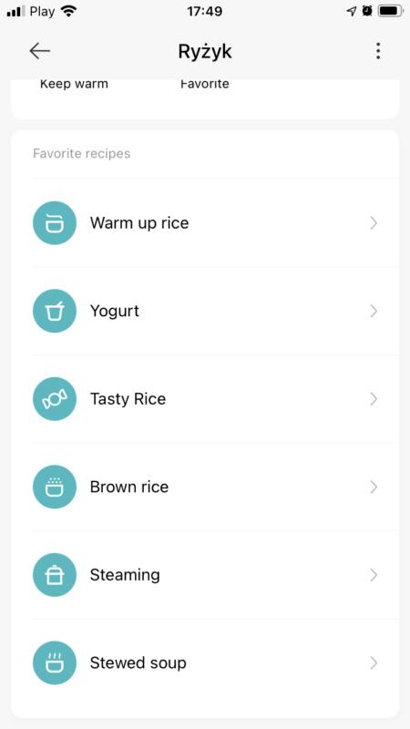Ricecooker Xiaomi Mi - podstwowe przepisy nadania inne niż ryż